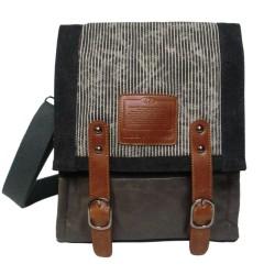 LICENCE 71195 Jumper Canvas MV Messenger Bag, Grey