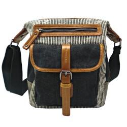 LICENCE 71195 Jumper II Canvas Shoulder Bag, Grey