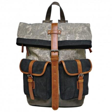 LICENCE 71195 Jumper II Canvas Backpack, Grey