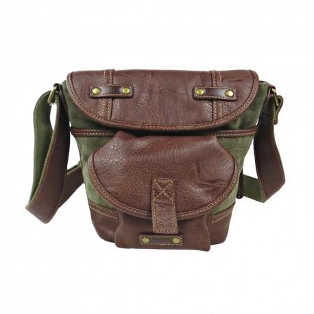 LICENCE 71195 Galea Small Shoulder Bag, Khaki