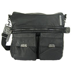 LICENCE 71195 Commuter OZ Messenger Bag, Black