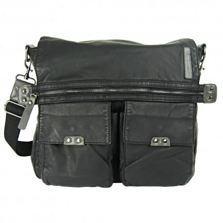 LICENCE 71195 Commuter OZ Messenger Bag, Black