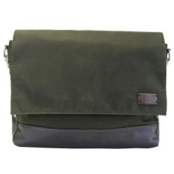 LICENCE 71195 College WaxC Messenger Bag, Khaki