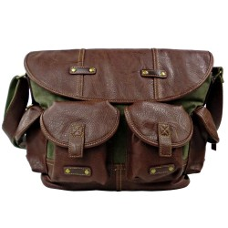 LICENCE 71195 Galea Messenger Bag, Khaki