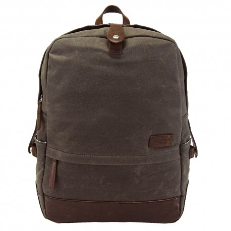 LICENCE 71195 College WaxC Backpack, Brown