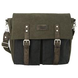 LICENCE 71195 College PiqueC Messenger Bag, Khaki