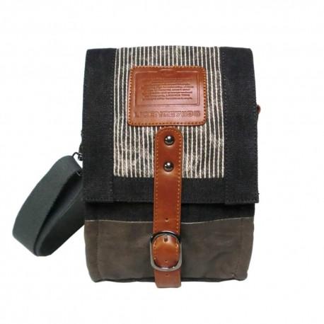LICENCE 71195 Jumper Canvas SV Shoulder Bag, Grey