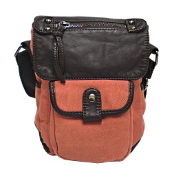 LICENCE 71195 Commuter CC Small Shoulder Bag, Rust