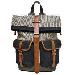 LICENCE 71195 Jumper II Canvas Backpack, Grey