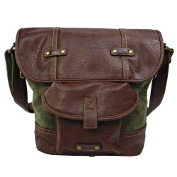 LICENCE 71195 Galea Medium Shoulder Bag, Khaki