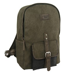 LICENCE 71195 College PiqueC Backpack, Khaki