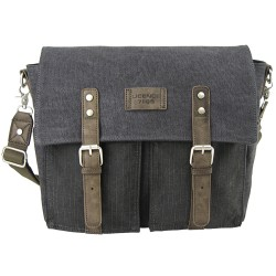 LICENCE 71195 College PiqueC Messenger Bag, Grey