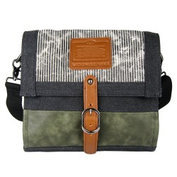 LICENCE 71195  Jumper Canvas M Shoulder Bag, Grey